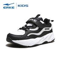 【2件3折到手价:89.7元】鸿星尔克(ERKE)男童鞋慢跑鞋儿童运动鞋大童男鞋魔术贴慢跑鞋63119120006