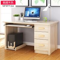 台式电脑桌 家用书桌简约办公桌子带抽屉写字桌学生写字台