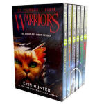 Warriors Box Set Volumes 1 to 6 猫武士第 一部曲套装英文原版小说 into the w
