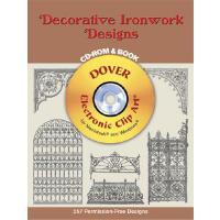 【预订】Decorative Ironwork Designs [With CD_Rom]