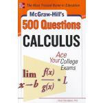 【预订】McGraw-Hill's 500 Calculus Questions: Ace Your College