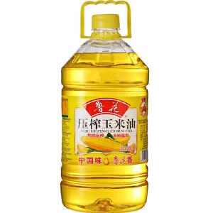 鲁花 玉米油 桶装 5L