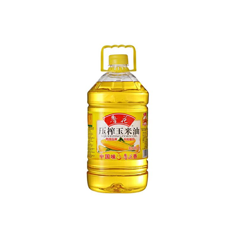 [当当自营] 鲁花 玉米油 桶装 5L自营食品 本商品包装更新升级中 新老包装随机发放
