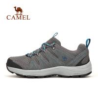 camel骆驼户外情侣款徒步鞋 男女防滑减震透气户外徒步鞋