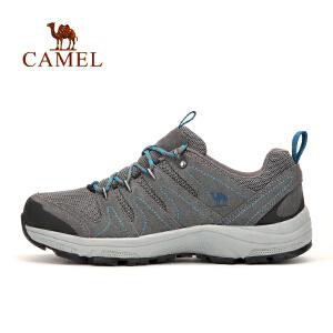 【每满200减100】camel骆驼户外情侣款徒步鞋 男女防滑减震透气户外徒步鞋