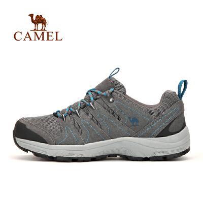 camel骆驼户外情侣款徒步鞋 男女防滑减震透气户外徒步鞋官方正品,七天无理由退换货,59元起包邮