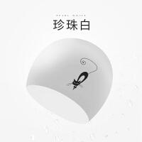 硅胶泳帽时尚潜水长发护耳韩版可爱泳帽海边度假游泳装备