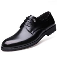 波图蕾斯新品当季爆款皮鞋男士商务休闲鞋英伦系带正装休闲皮鞋子婚鞋 5222