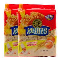 徐福记 八庄芝麻蛋酥沙琪玛160g*2 两种口味选择 下午茶聚会小吃糕点