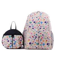 妈咪包大容量防水妈妈包双肩亲子背包孕妇包外出母婴包