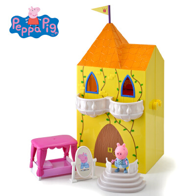 小猪佩奇peppapig粉红猪小妹佩佩猪过家家玩具佩奇公主魔塔套装