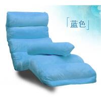 休闲沙发床懒人沙发单人飘窗椅日式可拆洗小折叠沙发床上椅阳台休闲坐躺椅子