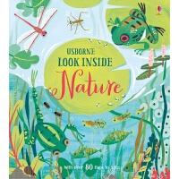 【中商原版】厄斯本看真点 自然 英文原版 Look Inside Nature纸板书 Usborne