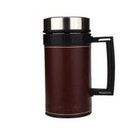 哈尔斯 HBG-450L-2 不锈钢真空保温杯 有手柄杯子茶杯 男士女士商务水杯450ml