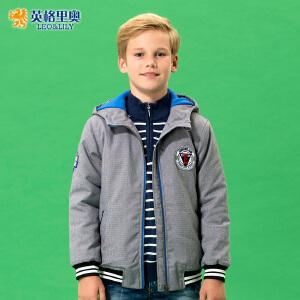 童装男童棉衣儿童冬装2018新款外套带帽加厚棉袄短款中大童棉服