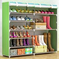 亚思特 简易鞋架 多层家用收纳鞋柜布艺简约现代防尘鞋架子0603C-1CX