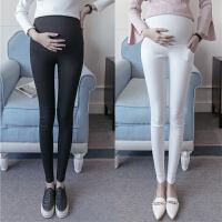 孕妇打底裤春季薄款孕妇裤子托腹裤春秋款长裤显瘦潮妈小脚铅笔裤
