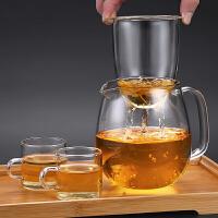 光一超值试用 高硼硅玻璃水壶耐高温可加热茶具套装家用泡茶茶壶白茶煮茶器防爆
