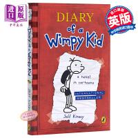 【中商原版】小屁孩日记1 英文原版绘本漫画 Diary of a Wimpy Kid1小屁孩