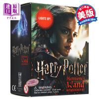 哈利波特:赫敏魔杖套装 英文原版 Harry Potter Hermione's Wand with Sticker