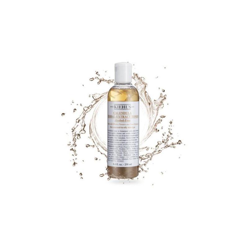 Kiehl's/科颜氏 金盏花植物爽肤水 250ml 舒缓肌肤 控油调理 冬季护肤 补水保湿