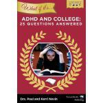 【预订】What If It's ADHD and College: 25 Questions Answered