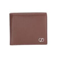 Z Zegna 杰尼亚 男士棕色皮质短款钱包钱夹 71 E1177Z PLM BZO
