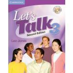 【预订】Let's Talk Level 3 Student's Book with Self-Study Audio