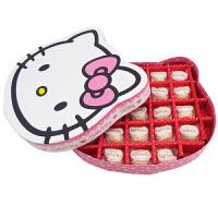 【顺丰包邮】费列罗(FERRERO) DIY KT猫礼盒(23粒拉斐尔雪莎巧克力) 情人节礼物