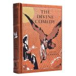 【中商原版】但丁:神曲 英文原版 The Divine Comedy 皮质金边珍藏版