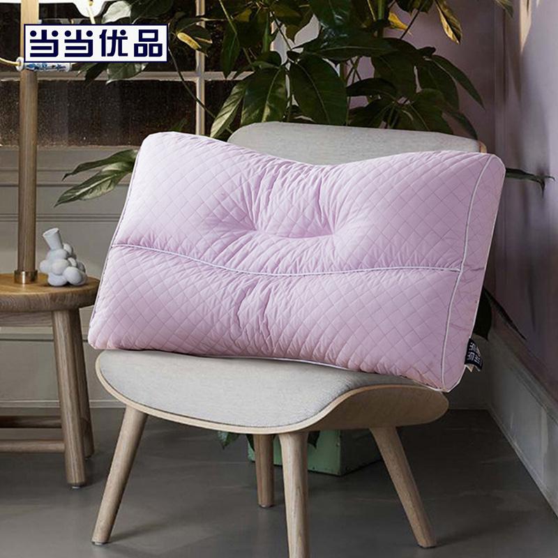 当当优品家纺 纯棉可水洗枕芯 抗菌高弹软管枕头西川制造商