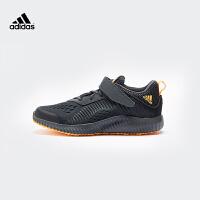 【3折价:179.7元】阿迪达斯(adidas)新款童鞋运动跑步鞋训练鞋B22555 炭黑