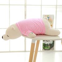 音乐枕毛绒玩具女生趴趴熊娃娃公仔可爱睡觉抱女孩抱枕萌