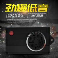 F4迷你相机蓝牙音箱 便携式户外USB免提通话充电宝蓝牙音响