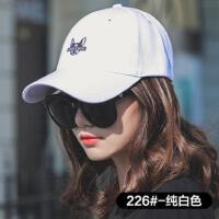 韩版鸭舌帽女网红同款时尚防晒休闲百搭帽子女运动太阳帽户外运动新品嘻哈帽棒球帽