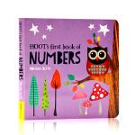 英文原版Hoot's First Book of Numbers