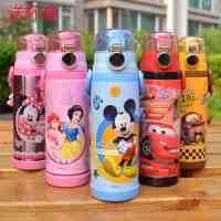 迪士尼保温杯儿童保温杯米奇不锈钢直饮学生水杯米菲保温水壶