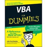 【预订】VBA for Dummies