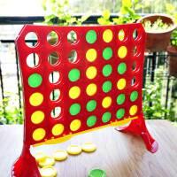 小乖蛋 四连环棋 大号立体四子棋 儿童亲子互动游戏桌游棋类玩具
