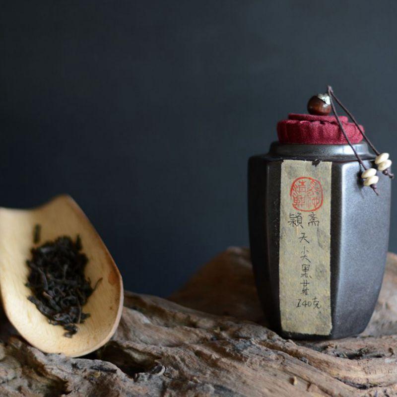 □天尖黑芽五年陈茶·   140G