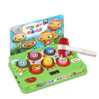 五星布鲁精灵打地鼠游戏机幼儿敲击电动益智大号音乐儿童玩具