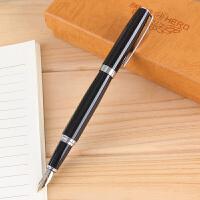 英雄钢笔382练字钢笔 书法练字笔直尖商务签字笔 办公礼盒笔包邮0.5mm
