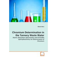 Chromium Determination in the Tannery Waste Water: Atomic A
