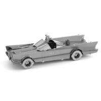 爱拼 金属 DIY拼装模型 3D立体拼图 蝙蝠侠 TV版蝙蝠车