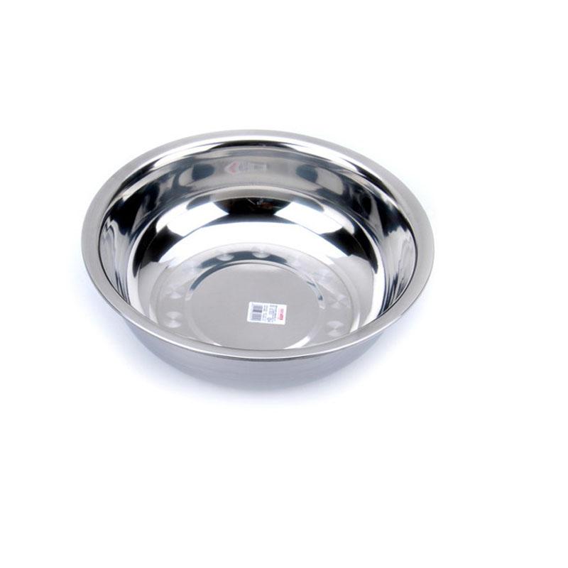 庆展24cm调料缸(促销)PQ24T-DC洗菜淘米 和面盛汤 用途多 加厚加深 洗菜盆 和面盆 汤盆 厨房盆