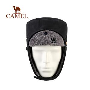 camel骆驼户外防风保暖帽 御寒透气舒适雷锋帽