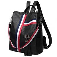 背包女双肩包韩版百搭大容量休闲旅行多用包包女背包三用