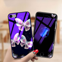 免邮 苹果iphone手机壳 保护壳 防摔蓝光玻璃壳 iPhone X 8/7/6/6S plus 苹果系列保护套