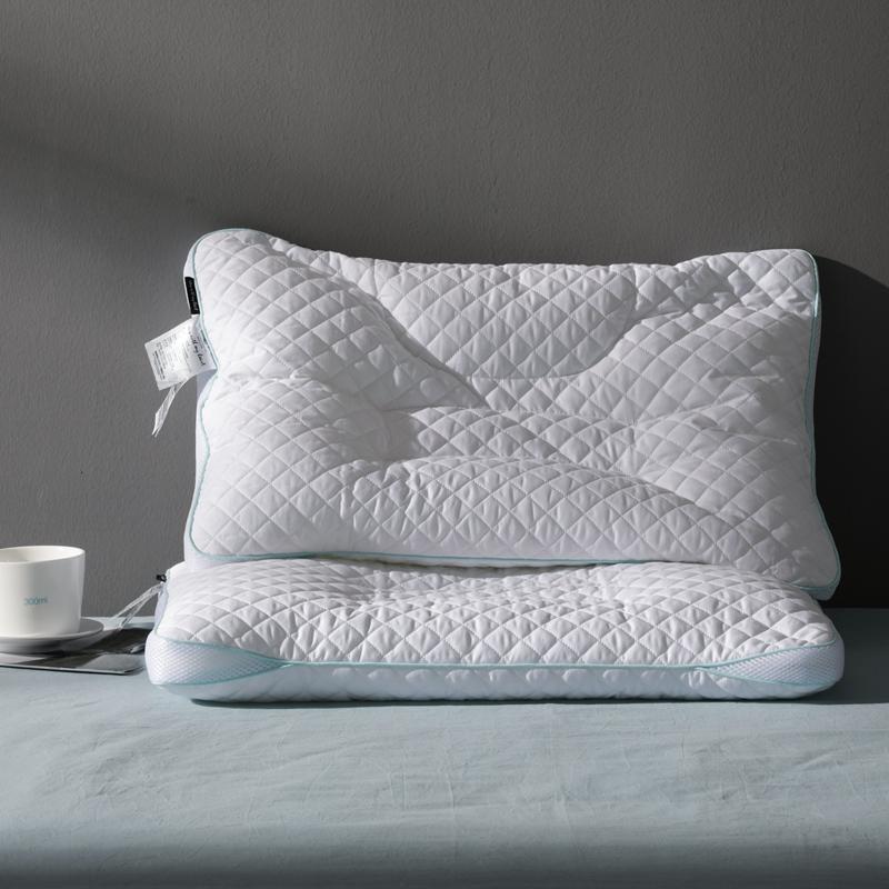 出口日本高分子枕头PE软管枕芯3D透气单人全棉护颈枕枕心一对定制 软管枕(TPE) 48*74 一只装