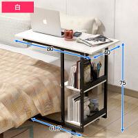 电脑桌台式家用简约经济型懒人床边笔记本电脑桌床上简易小桌子